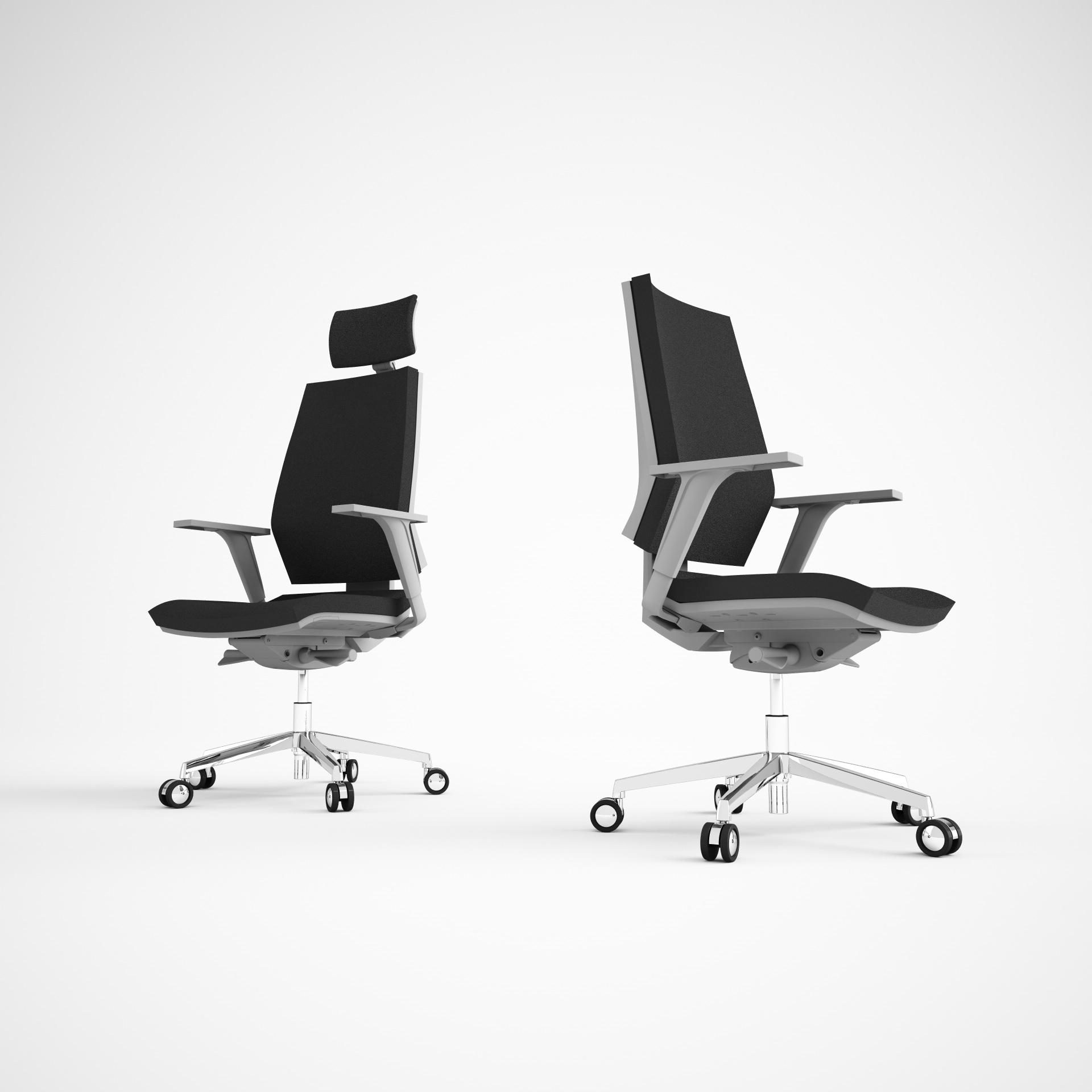 Sedia regolabile in altezza ed inclinabile