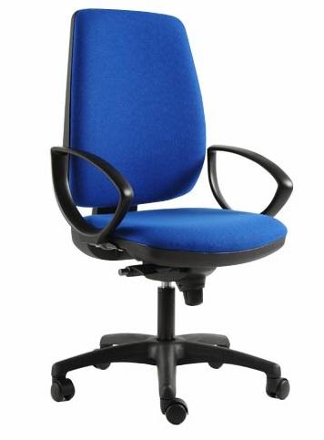 Sedia ergonomica con imbottirura maggiorata