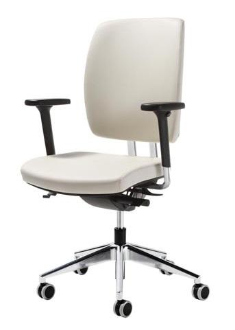 Sedia con schienale regolabile