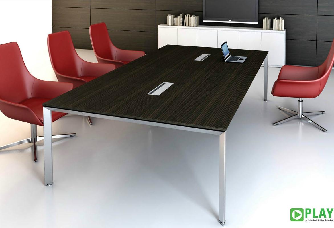Tavolo per riunione rettangolare