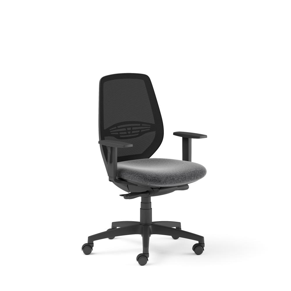 Sedia schienale in rete certificata
