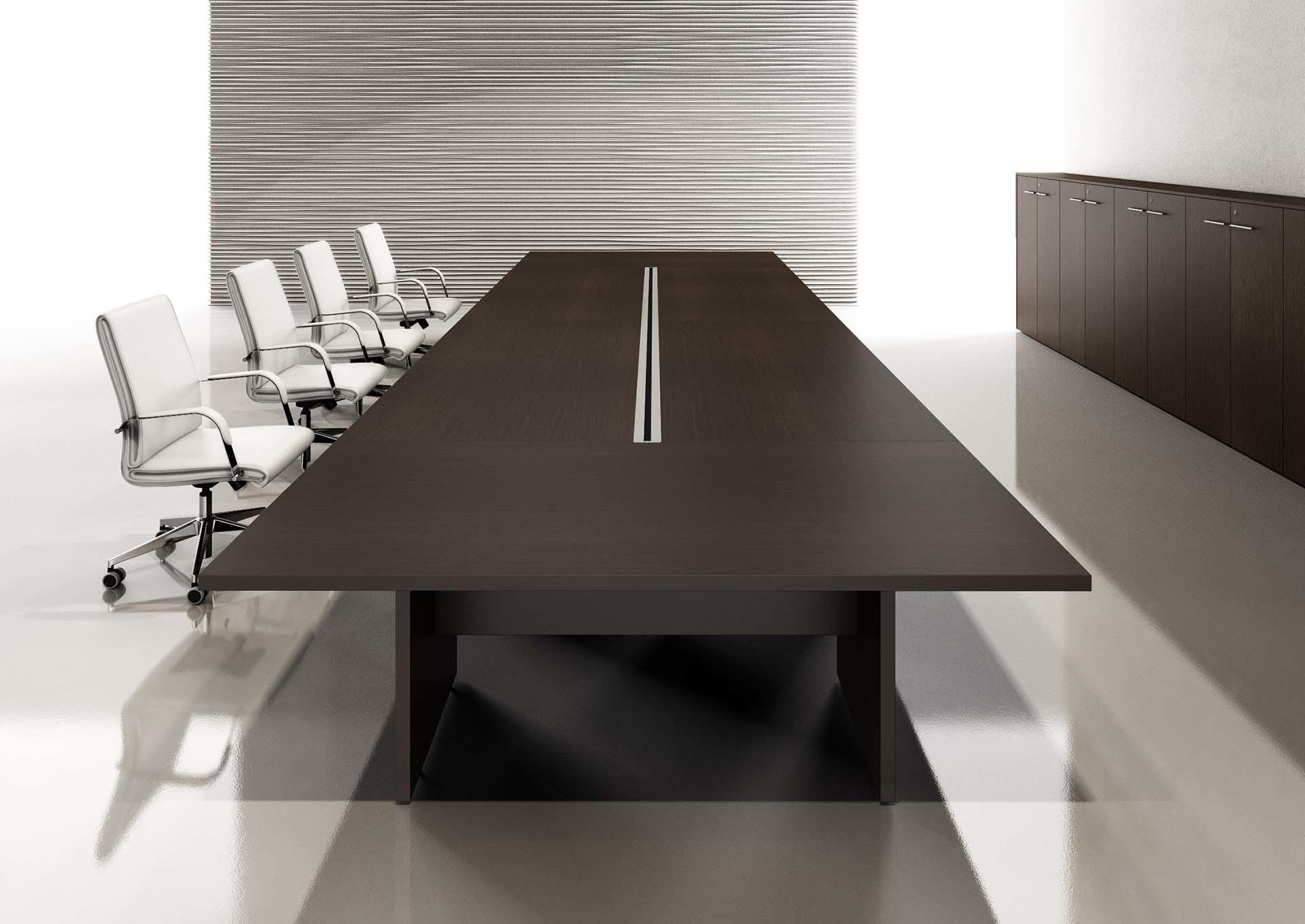 Tavolo per conferenza con sportelli