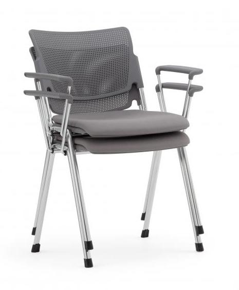 sedia per riunione impilabile